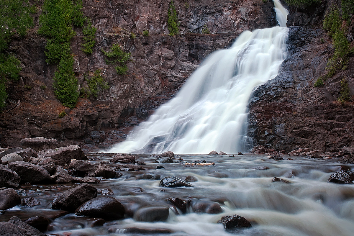 Caribou Falls, Minnesota, North Shore.