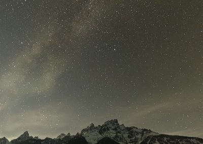 Milky Way over the TetonsPS2