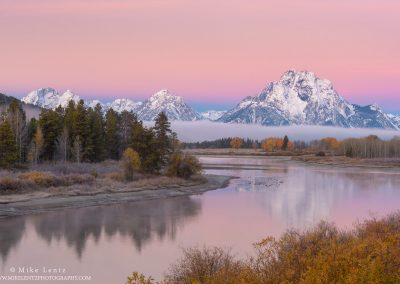 Oxbow Bend autumn pink sunrisePS2
