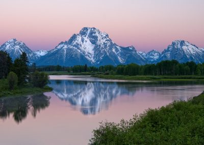 Oxbow Bend sunrise SLIDESHOW