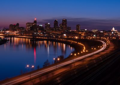 St. Paul nightscapes