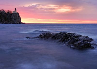 Split rock lighthouse - rock anchor